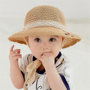 Baby / Toddler Sunproof Straw Hat