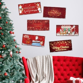 Living Room Bedroom Christmas Decoration Wall Stickers