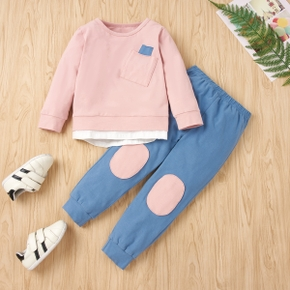 2pcs Baby Boy casual Baby's Sets Cotton Fashion Long Sleeve Infant Clothing Outfits