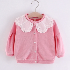 Baby Girl casual & Cat Coat & Jacket Cotton Fashion Long Sleeve Infant Clothing Outfits