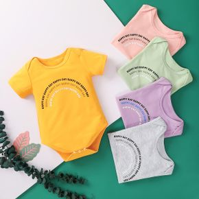 Baby Casual Letter HAPPY DAY Rompers