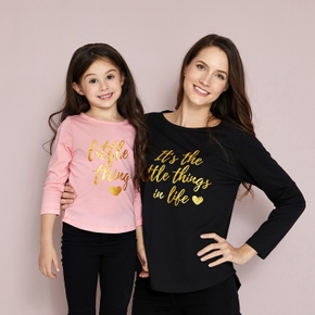 Mosaic Mommy and Me Little Thing in Life Top for Mom - Girl - Baby