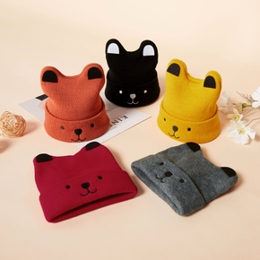 Baby / Toddler Lovely Solid Cartoon Design Knitted Hat