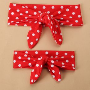 Polka dot/Plaid  Bow-knot Headbands for Mommy and Me
