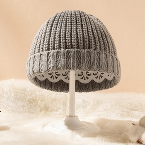 Baby Solid Knitted Thermal Hat ( Various colors )