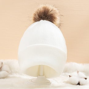 Baby / Toddler Pompon Knitted Hat
