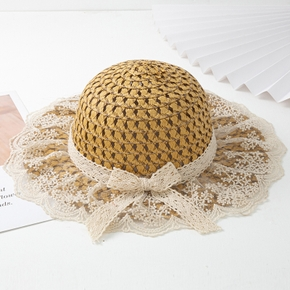 Baby / Toddler Lace Flounced Hat