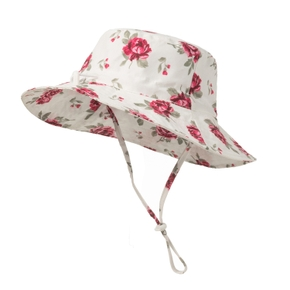 Baby / Toddler Flower Print Hat