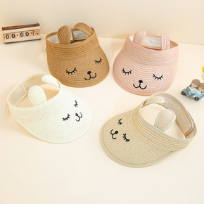 Baby / Toddlers Cartoon Eye Mouth Print Hat