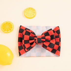 Baby / Toddler Grid Bowknot Hairband