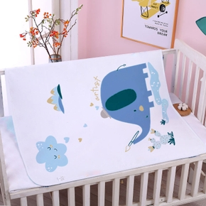 1Pcs Baby Nappy Changing Mat Breathable Waterproof Infant Diaper Cusion Newborn Nappy Pads Cartoon Print Mattress Cover