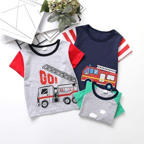 Baby / Toddler Cartoon Car Print Tee