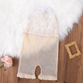 1pc Baby Girl Cotton casual Jumpsuits