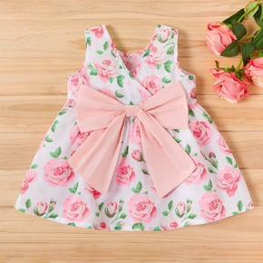 Baby Pretty Rose Allover Sleeveless Dress