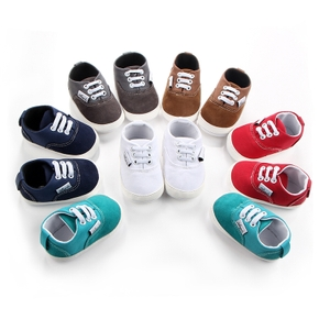 Baby / Toddler Casual Solid Antiskid Prewalker Shoes