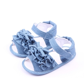 Baby / Toddler Girl Solid Layered Sandals