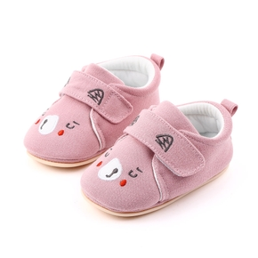 Baby / Toddler Animal Raccoon Embroidered Prewalker Shoes