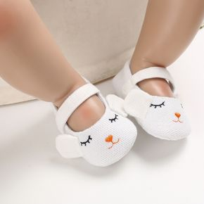 Baby / Toddler Girl Adorable Animal Decor Solid Velcro Shoes (Various colors)