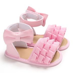 Baby / Toddler Girl Bowknot Decor Layered Sandals