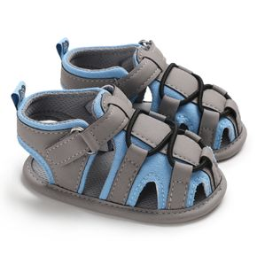 Baby / Toddler Boy Stylish Colorblock Hollow Out Sandals