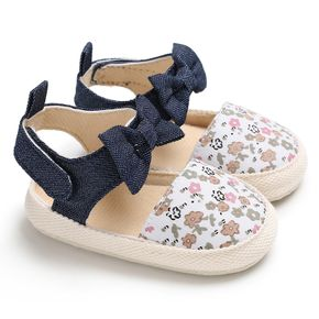 Baby / Toddler Girl Pretty Floral Print Velcro Sandals