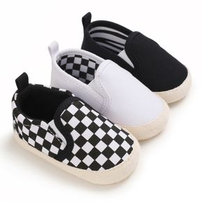 Baby / Toddler Casual Classic Grid Canvas Prewalker Shoes