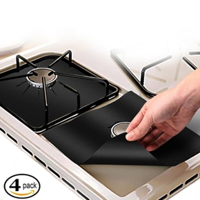 4-pcs Gas Stove Square Washable Protective Case