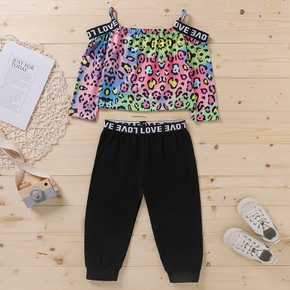 2-piece Baby / Toddler Chic Leopard Print and Pants Set