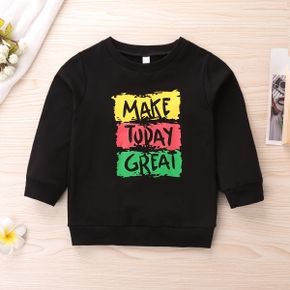 Baby / Toddler Chic Letter Pullover