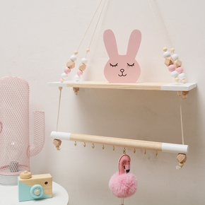 Wooden Hanging Storage Plate