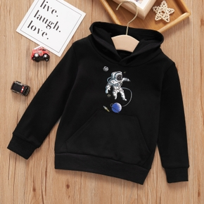 Baby / Toddler  Astronaut Hooded Long-sleeve Pullover