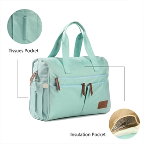 Multifunctional Diaper Handbag Crossbody Bag Large Capacity, Stylish Maternity Baby Changing Bag
