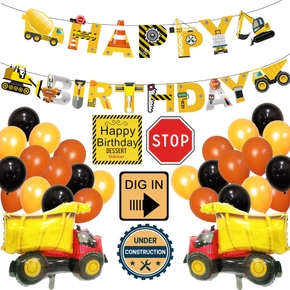 Shop truck Balloons Sets Birthday Party Decoration (30pcs)