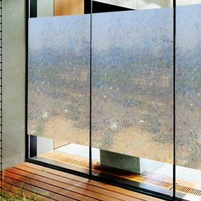 Bloss 3D Window Films Decorative Films No Glue Self-Adhesive Privacy Protection Anti UV