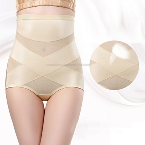 Summer Women High Waist Slimming Tummy Control Briefs