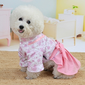 Chinese Style Pet Skirt