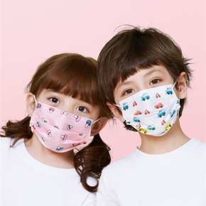 10-pack Toddler&Kids  Anti Dust,Droplet,Breathable Mask Non-medical use