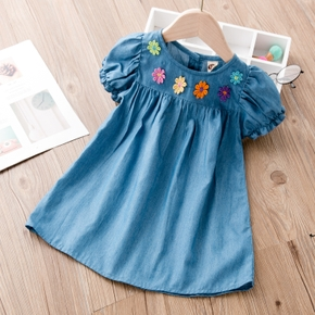 Baby / Toddler Cutie Embroidered Floral Dress