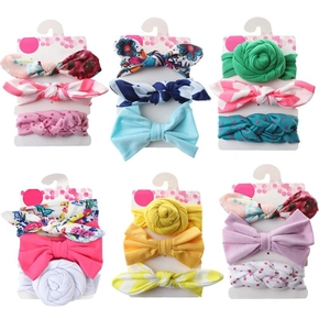3-piece Pretty Bowknot Hairband for Girls