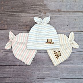 3-pack Baby Striped Hat