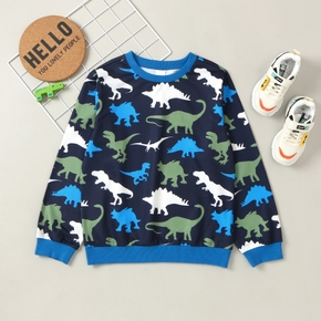 Kid Boy Dinosaur Sweatshirt