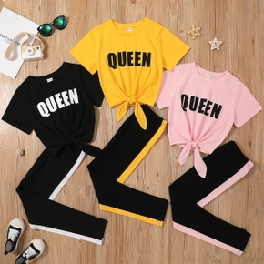 2pcs Kid Girl Pants suit casual Suits
