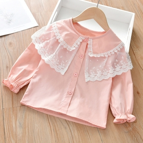 Baby / Toddler Cutie Lace Collar Shirt