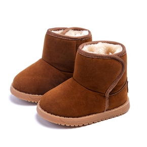 Toddler Solid Cotton Snow boots