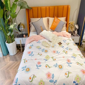 Floral Soft Warm Blanket Washed Cotton Summer Simple Style Multi-pattern Hot-selling Cool Quilt Summer Comfortable Air-conditioning Quilt