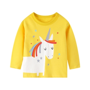 Baby / Toddler Unique Print Long-sleeve Tee