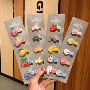 5-pack Adorable Hairpins for Girls