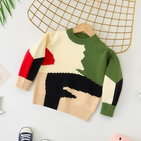 Baby / Toddler Colorblock Long-sleeve Sweater