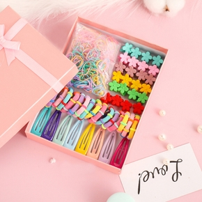 220-piece Hairbands and Hairpins Set for Girls (NO BOX)