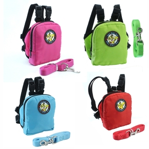 Pet multifunctional backpack traction rope set